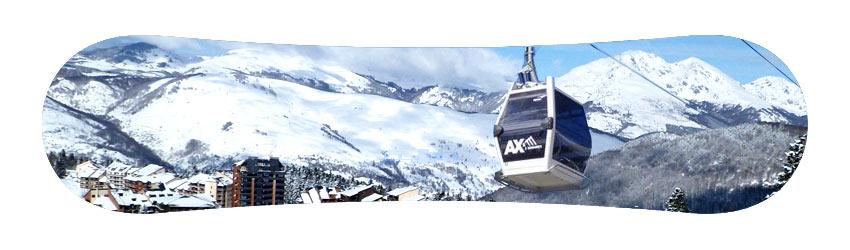 location materiel sports ski snowboard Ax-les-thermes